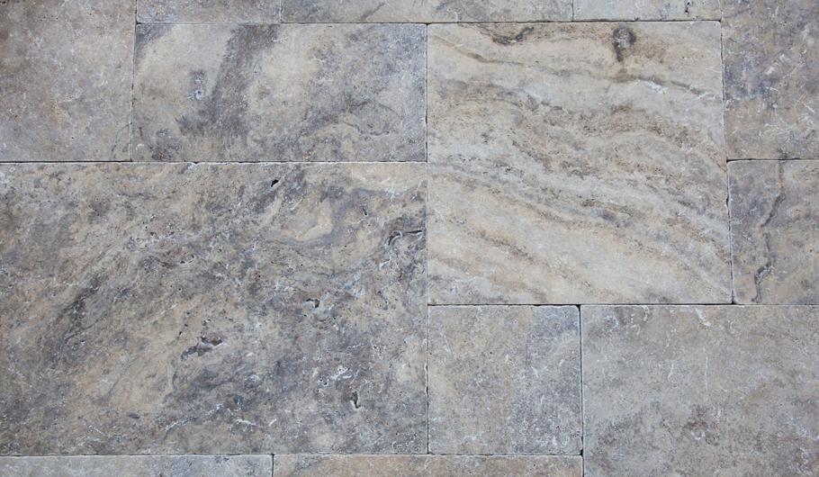 Terrassenplatten Travertin Sirenus